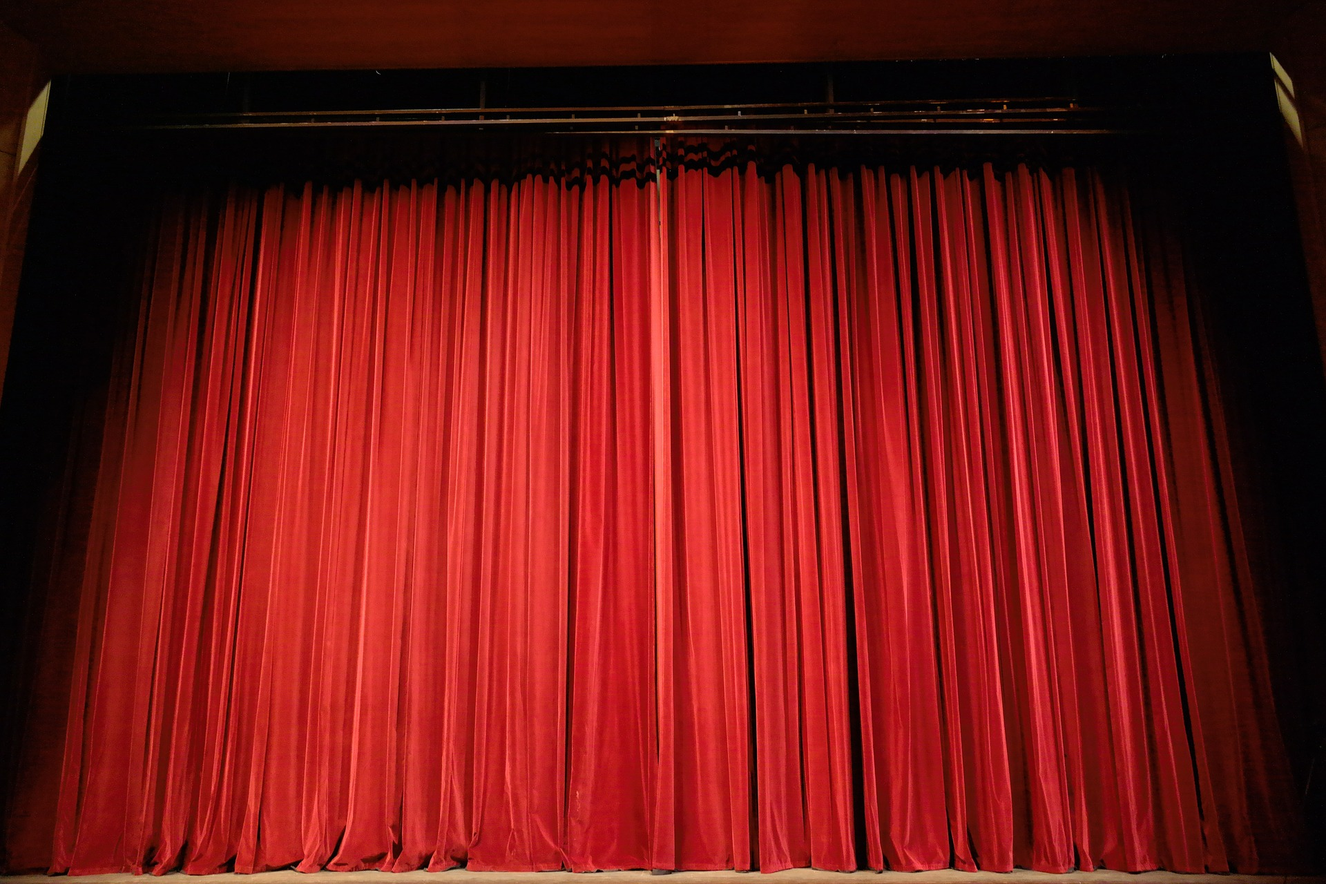 Opening Celebration: Curtain on a Stage